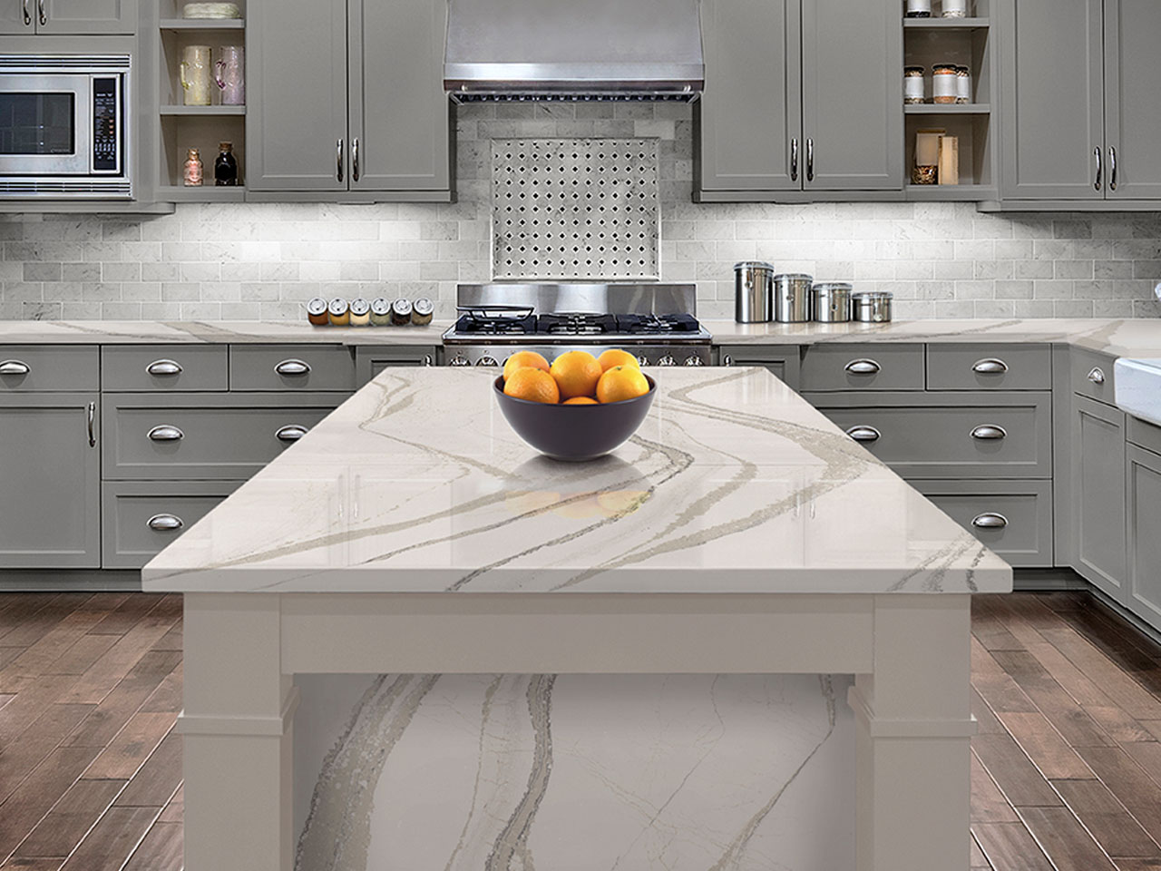Brittanicca Inspiration Gallery marble countertop