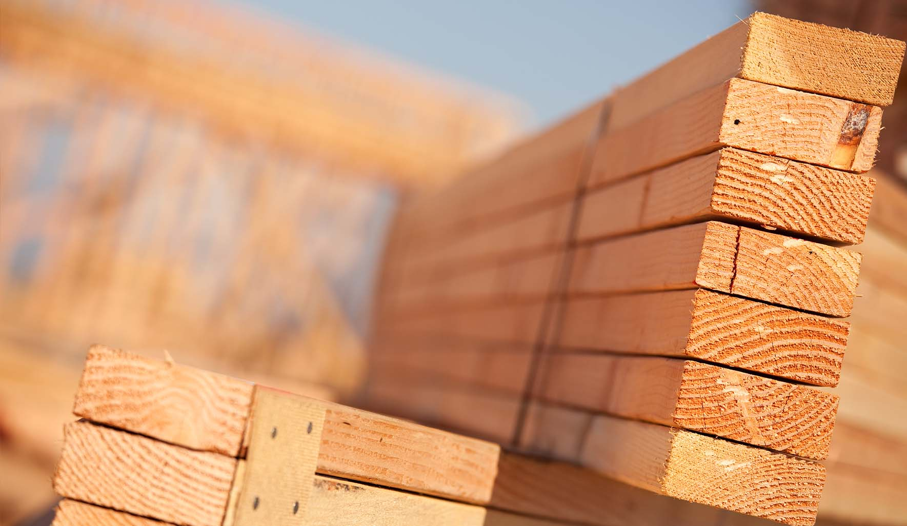 lumber for new home construction