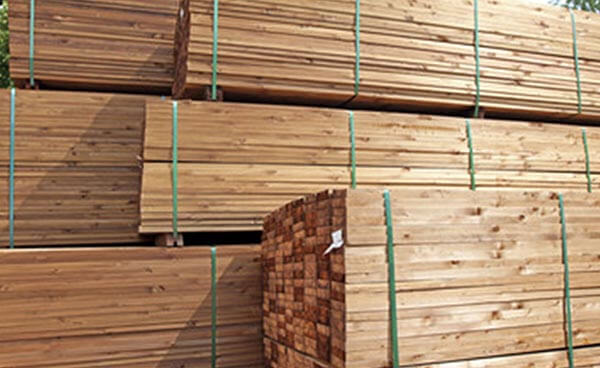 lumber at Von Tobel