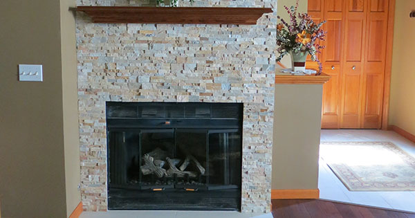 fireplace repair at Von Tobel