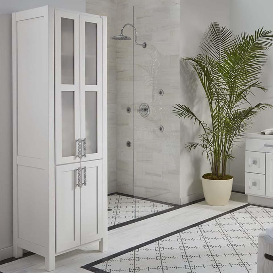 bathroom cabinets, Bathrooms