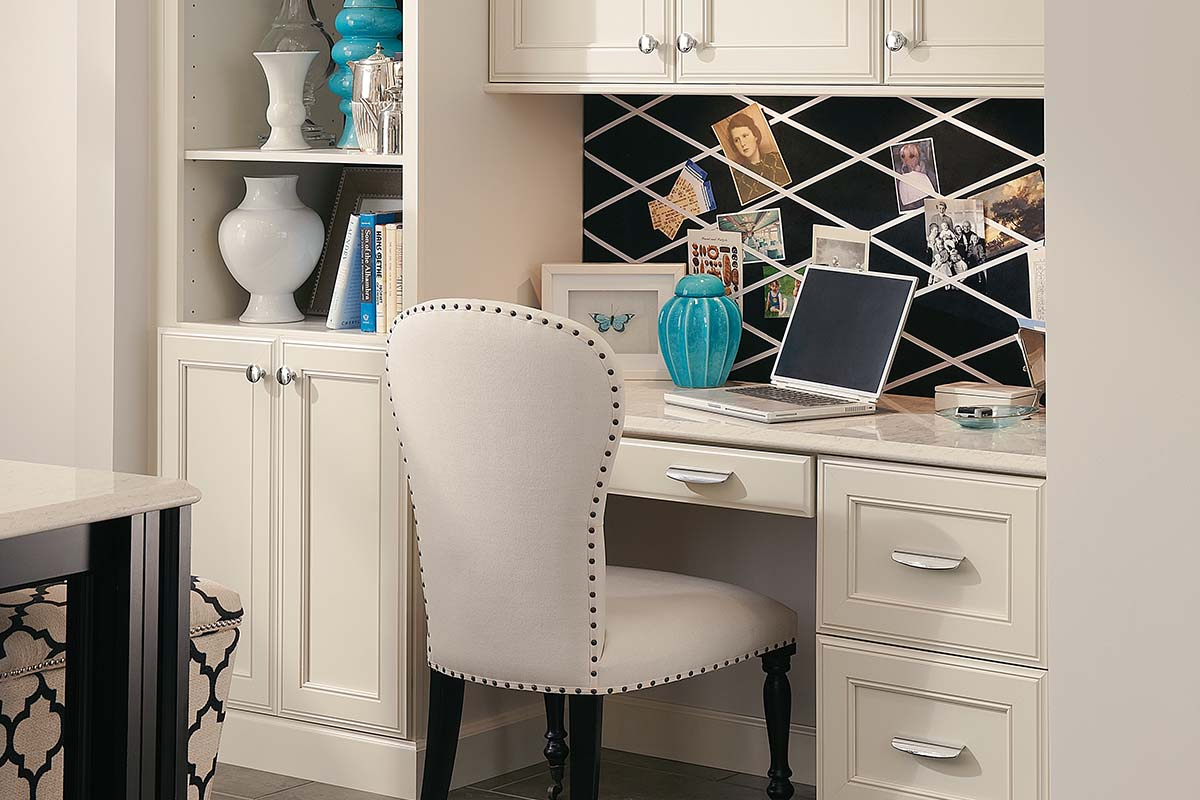Built-In Office Cabinets, Home Office